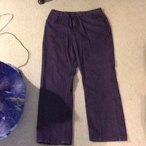 Purple coldwater creek jeans
